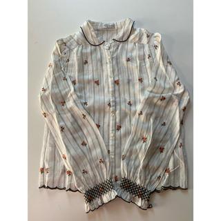 mina perhonen - サリースコット ブラウス 刺繍