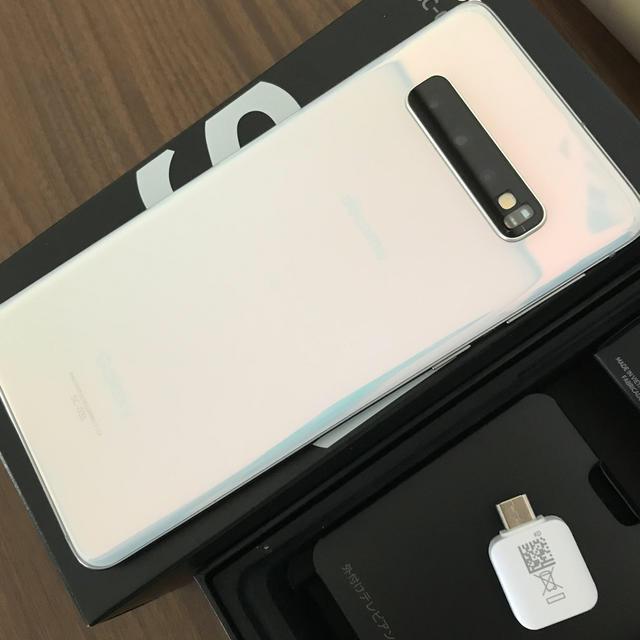 Galaxy(ギャラクシー)のdocomo Galaxy S10 SC-03L 本体 ロック解除済み スマホ/家電/カメラのスマートフォン/携帯電話(スマートフォン本体)の商品写真