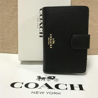コーチ(COACH)の新品COACH コーチ 二つ折り財布 正規品 アウトレットF53436(折り財布)