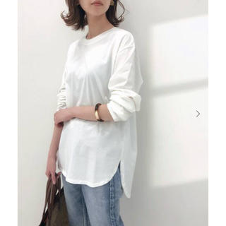 IENA - IENA  ラウンドテールロングTシャツ