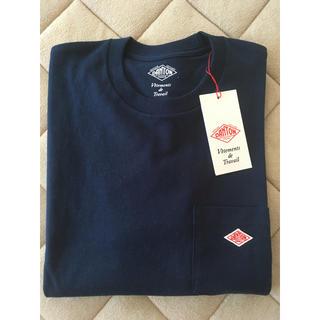 DANTON - ダントン ポケットTシャツ S36