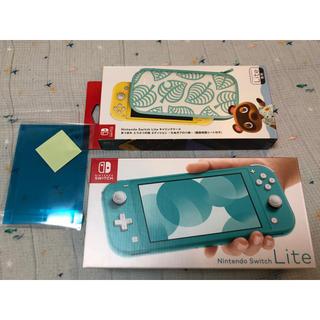 Nintendo Switch - ニンテンドーNintendo スイッチライト Switch Lite ターコイズ