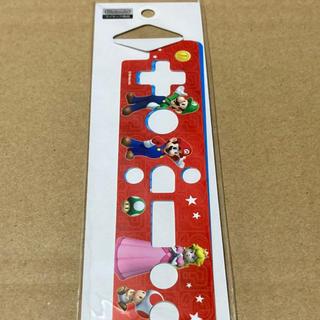 ウィー(Wii)の任天堂ライセンス品スーパーマリオwii wiiuリモコンシート 2枚入り(その他)