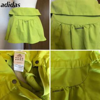 アディダス(adidas)のadidas テニススコート黄緑S(ウェア)