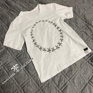 カスタムカルチャー(CUSTOM CULTURE)のCUSTOM CULTURE Tシャツ 2 ラインストーン 星 スター(Tシャツ/カットソー(半袖/袖なし))