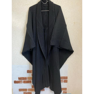 イッセイミヤケ(ISSEY MIYAKE)のhomme plisse コート プリーツコート ガウンコート(チェスターコート)