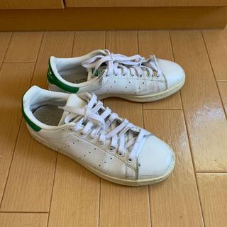アディダス(adidas)のadidas Stan Smith スニーカー 白 23.5㎝ 送料込(スニーカー)