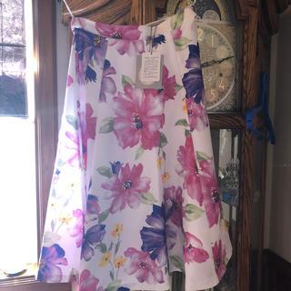 Apuweiser-riche - リランドチュール    花柄スカート