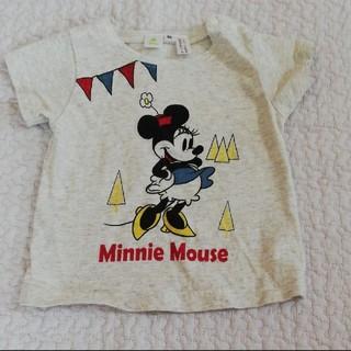 ディズニー(Disney)の美品☆ミニーマウス半袖Tシャツ(Tシャツ)