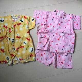 甚平 ロンパース70 甚平90(甚平/浴衣)