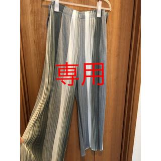 PLEATS PLEASE ISSEY MIYAKE - ワイドパンツ プリーツプリーズ