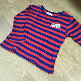 キムラタン(キムラタン)の90 ピッコロ ボーダーロンT(Tシャツ/カットソー)
