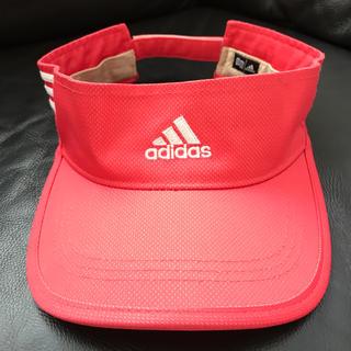 アディダス(adidas)のアディダス サンバイザー ゴルフ(その他)