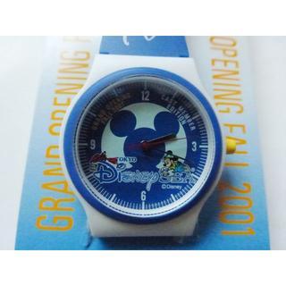 ディズニー(Disney)のディズニーシーOPEN 2001/ キャストメンバーエディション時計(その他)
