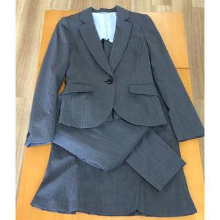スーツカンパニー(THE SUIT COMPANY)のグレー 夏用スーツ 3点セット(スーツ)