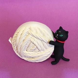 レア 完売品 ■ ミクニッツ 黒猫のメジャー ■ 三國万里子 手編み グッズ 猫