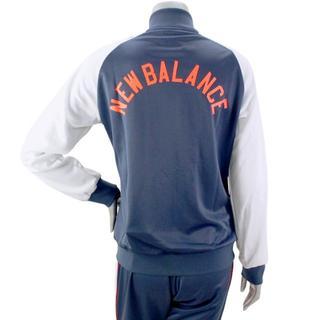 ニューバランス(New Balance)の【新品】定価8,690円★ニューバランス★トラックジャケット(紺)★S(スタジャン)