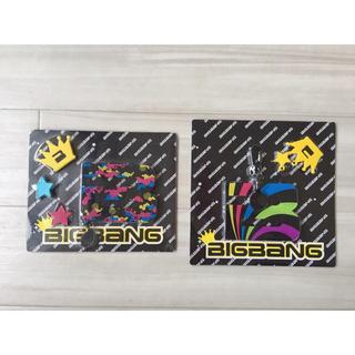 BIGBANG - BIGBANG『LOVE&HOPE TOUR』キーホルダー&バッヂ 2個セット
