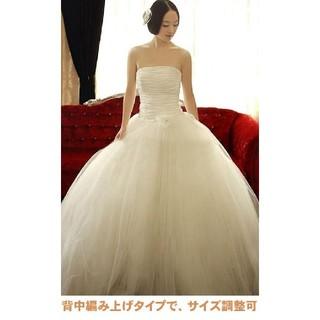 前撮り 後撮り 二次会用 プチプラ ウェディングドレス (ウェディングドレス)