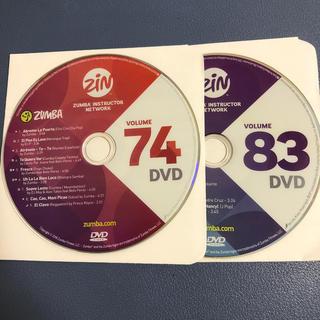 ズンバ(Zumba)のrere様専用♫ ZUMBA DVD(スポーツ/フィットネス)