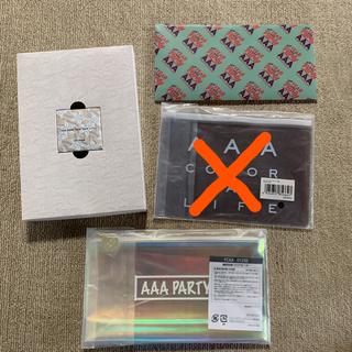 トリプルエー(AAA)のAAA リップクリーム チケットファイル(ミュージシャン)
