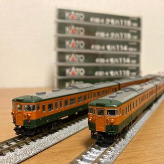 カトー(KATO`)の115系6連セット(鉄道模型)