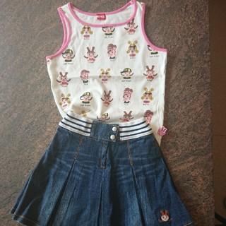インナープレス(INNER PRESS)の美品 INNER PRESS インナープレススカート130(スカート)