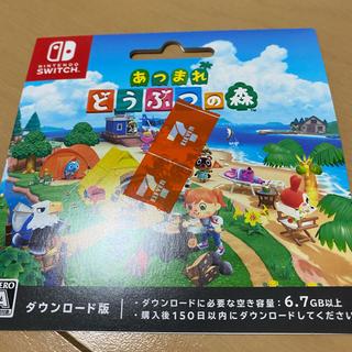 Nintendo Switch - あつまれどうぶつの森 ダウンロード版