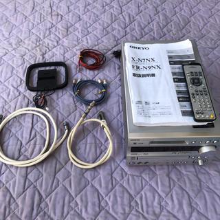 オンキヨー(ONKYO)のONKYO(CD/MDチューナーアンプ)FR-N9NX(アンプ)