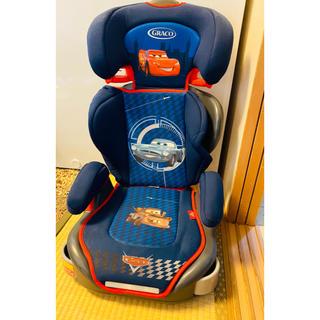 ディズニー(Disney)のカーズ チャイルドシート ジュニアシート 15~36kg ディズニー(自動車用チャイルドシート本体)