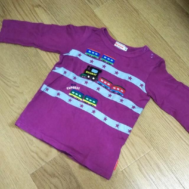 mikihouse(ミキハウス)の90 エクスプレスロンT キッズ/ベビー/マタニティのキッズ服男の子用(90cm~)(Tシャツ/カットソー)の商品写真