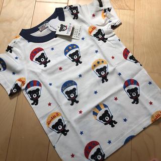 DOUBLE.B - ダブルビー パラシュート Tシャツ 100