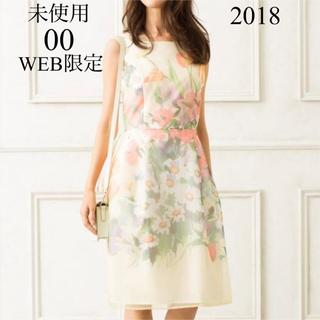 TOCCA - 未使用 WEB限定 TOCCA DRAWING FLOWER 00 花柄