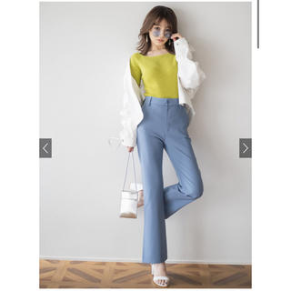 GRL - 裾スリットフレアパンツ