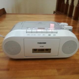 トウシバ(東芝)の東芝 TY-CK2 CDラジカセ AM FMラジオ(ラジオ)