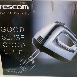 テスコム(TESCOM)のハンドミキサー TESCOM THM1200(ジューサー/ミキサー)