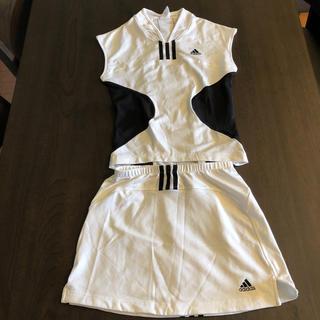 アディダス(adidas)のテニスウェア アディダス レディース上下セット(ウェア)