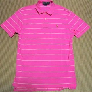 ポロラルフローレン(POLO RALPH LAUREN)のポロ ラルフローレン デザインボーダー ポロシャツ☆マルチカラーポニー刺繍(ポロシャツ)