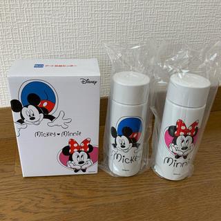 ディズニー(Disney)の【非売品】アート引越しセンター ミッキー&ミニー ミニボトル(新品未使用)(水筒)
