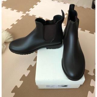 長靴 雨靴 レディース 着脱ラクチン Mサイズ(レインブーツ/長靴)