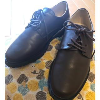 メルロー(merlot)のメルロー フェイクレザー レースアップシューズ(ローファー/革靴)