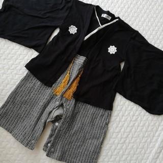 男の子 袴ロンパース 90cm(和服/着物)