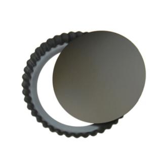 タルト型 アルミ製 底取れタイプ 直径20cm×厚み2.5cm(調理道具/製菓道具)