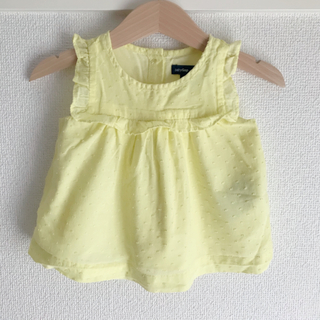 babyGAP - *baby gap*イエローブラウス*6-12m