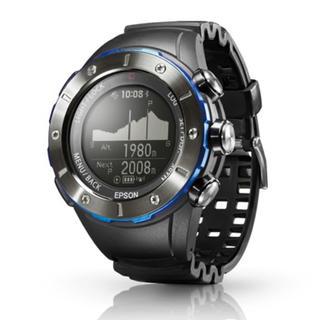 エプソン(EPSON)のエプソン 登山 GPSウォッチ スマートウォッチ 腕時計 MZ-500MS(腕時計(デジタル))