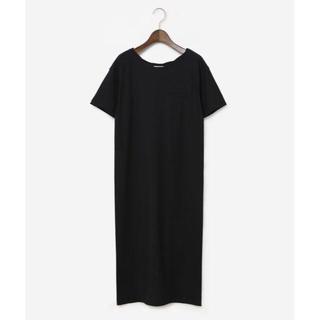 PLST - 新品 未使用 PLST プラステ ワンピース M ブラック ロングTシャツ