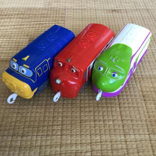 タカラトミー(Takara Tomy)のプラレール チャギントン 手コロでチリン 3両セット(電車のおもちゃ/車)