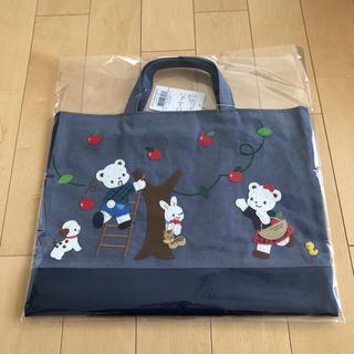 familiar - ファミリア☆デニムバッグ