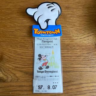 ディズニー(Disney)のディズニーランド トゥーンタウン チケットホルダー  レトロ ヴィンテージ(遊園地/テーマパーク)