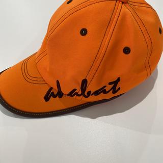 アダバット(adabat)のゴルフ帽子☆新品未使用品(キャップ)